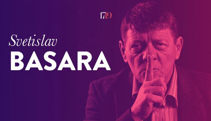 """""""A jó író nyíltan lop"""" (Interjú Svetislav Basarával)"""
