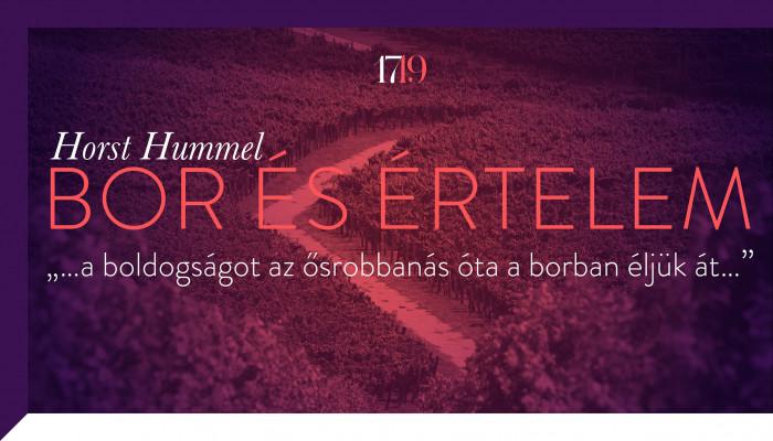 Horst Hummel: Bor és értelem. A bor történetiségéről