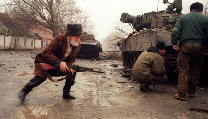 Uladzimir Nyakljajeu: Hajbah, Csecsenföld