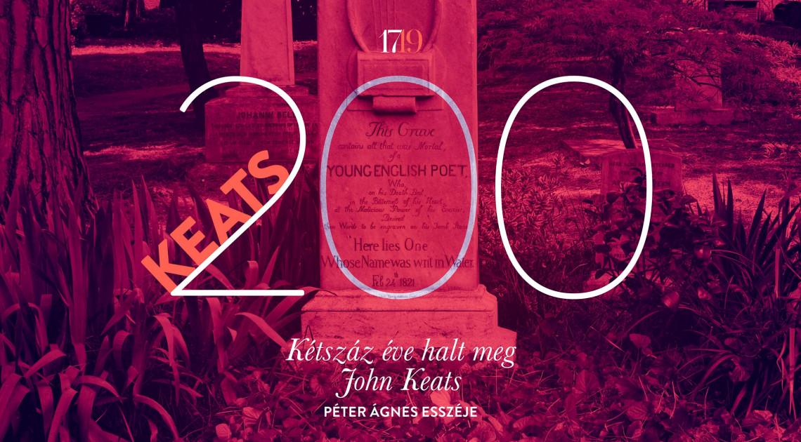 Kétszáz éve halt meg John Keats