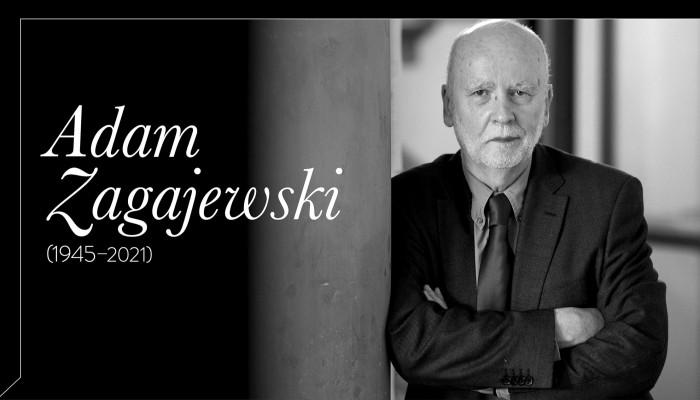 Húsboltok és múzeumok. Adam Zagajewski (1945–2021)