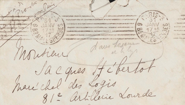 A levélíró Marcel Proust (Proust másik arca)