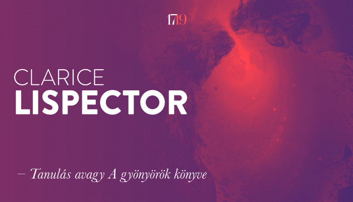 Clarice Lispector: Tanulás avagy A gyönyörök könyve