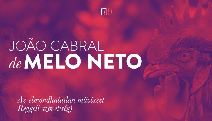 João Cabral de Melo Neto újabb versei
